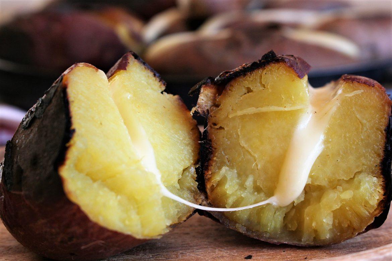 Sweet Potato With Maribo Cheese